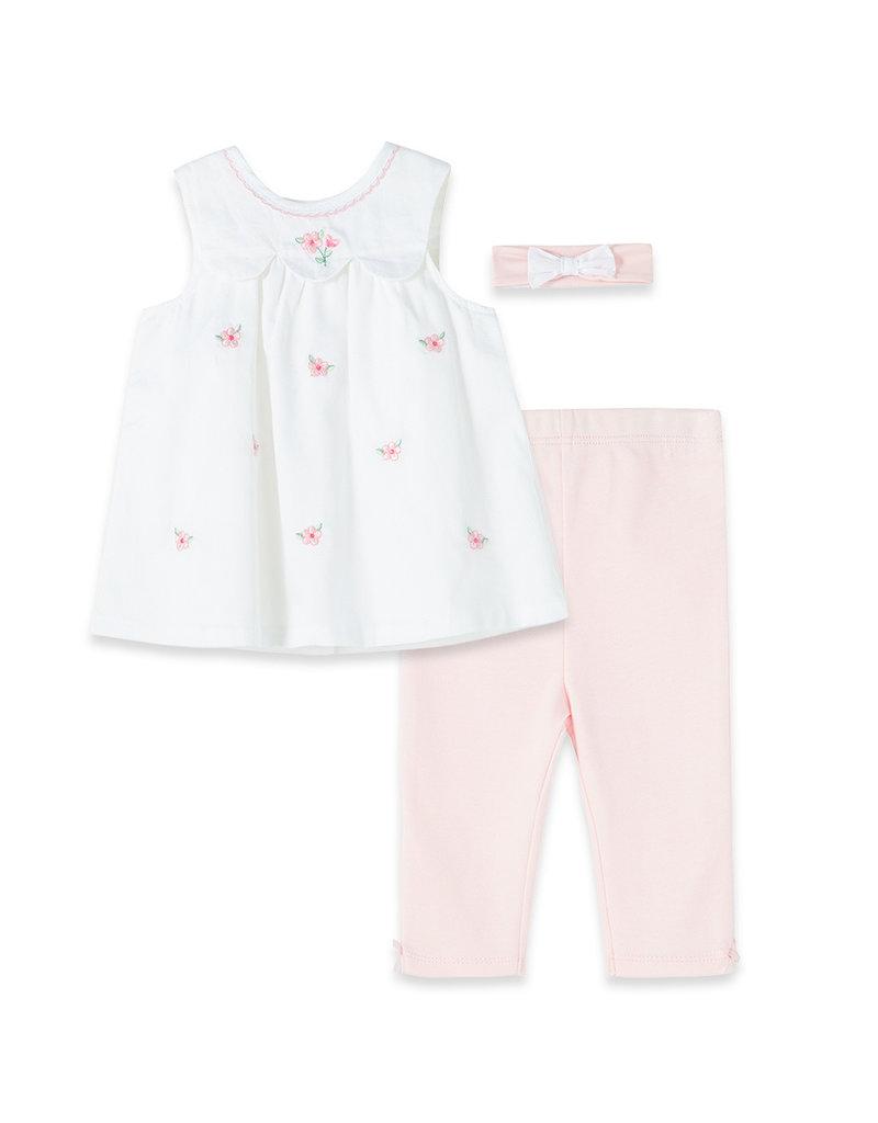Little Me Floral Tunic Leggings 3pc Set