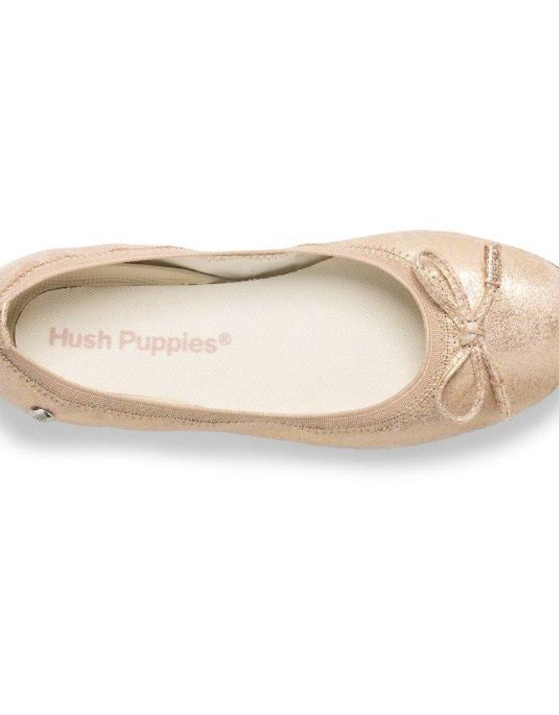 Hush Puppies Josie Mary Jane Rose Gold