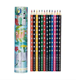 Floss and Rock 12 Pack Colored Pencils