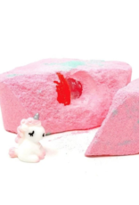Feeling Smitten Bath Bakery Rainbows Unicorns Surprise Bath Bomb
