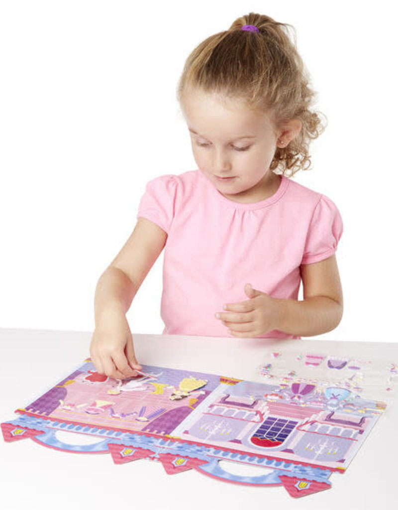 Melissa & Doug Puffy Sticker Princess