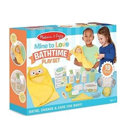 Melissa & Doug Mine to Love Changing Bath Time Play Set