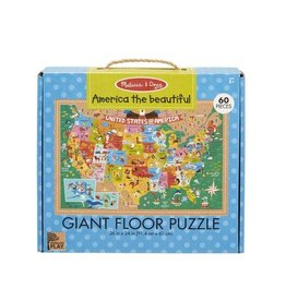 Melissa & Doug Giant Floor Puzzle America the Beautiful