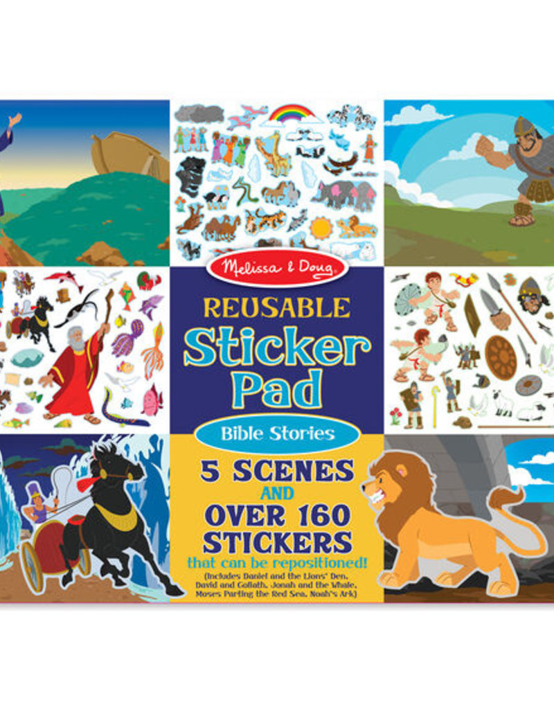 Melissa & Doug Reusable Sticker Pad - Bible Stories