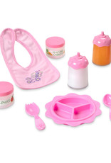 Melissa & Doug Mine to Love - Baby Food & Bottle Set