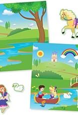 Melissa & Doug Reusable Sticker Pad Princess Castle