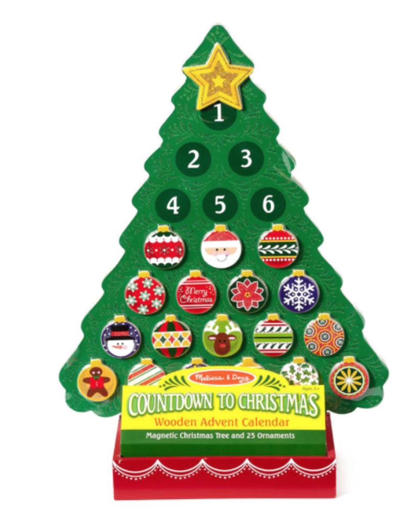 Melissa & Doug Wooden Advent Calendar