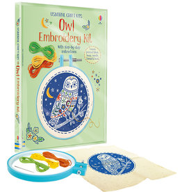 Usborne Embroidery Kit Owl