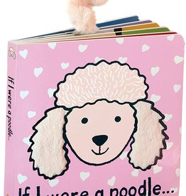 Jellycat If I Were a Poodle Book (Blush)