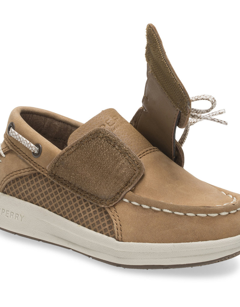 Sperry Gamefish Junior Boat Shoe Dk Tan