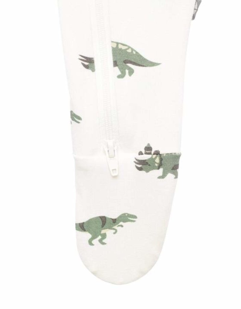 Kyte Baby Printed Zippered Footie  Dino