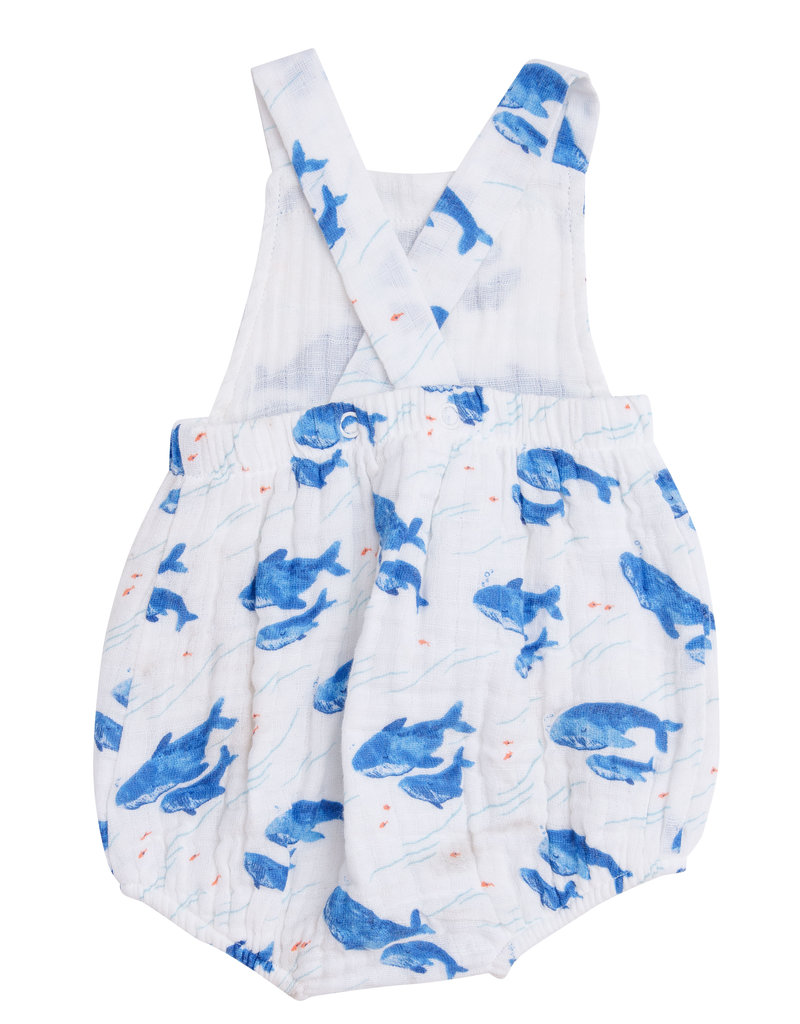 Angel Dear Blue Whale Retro Sunsuit