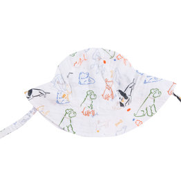 Angel Dear Bark Life Sunhat 0/6M-12/24M