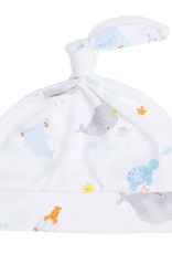 Angel Dear Baby Shark Knotted Hat 0/3M