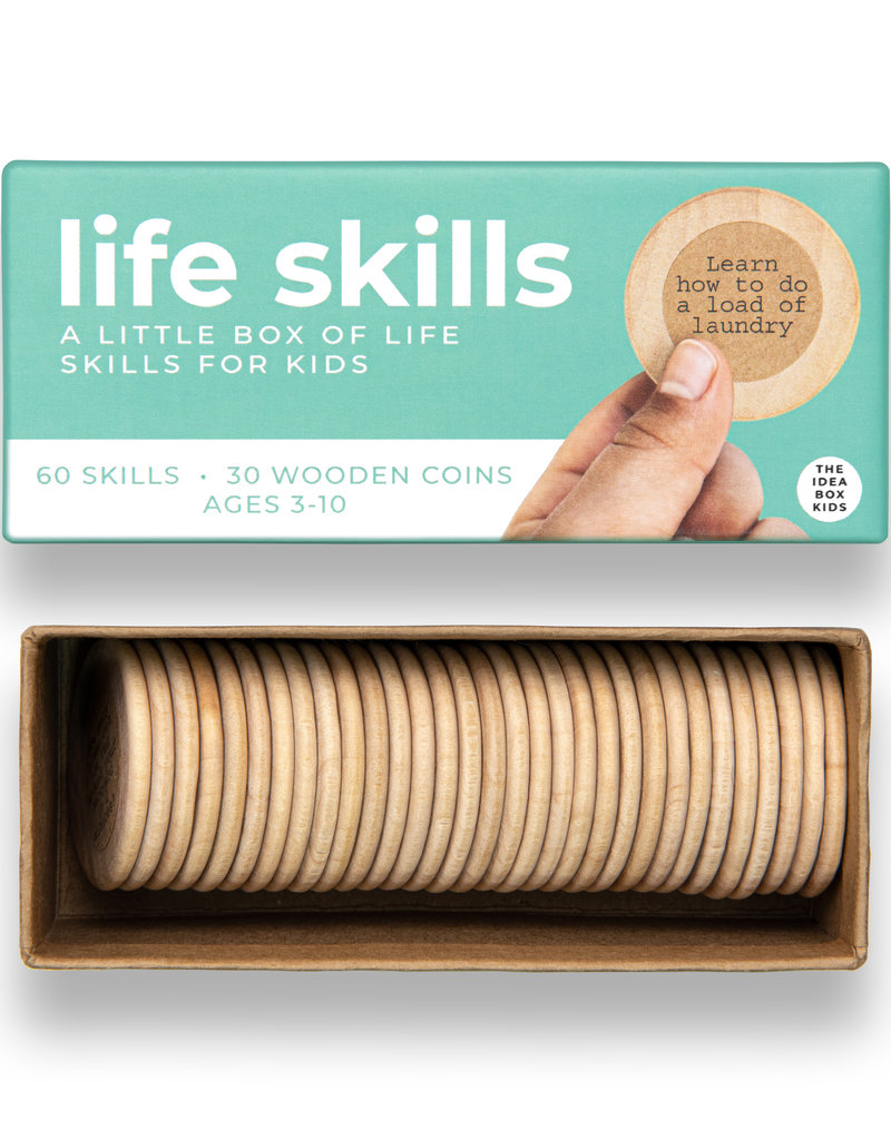 The Idea Box Kids Life Skills - Simple Life Skills for Kids