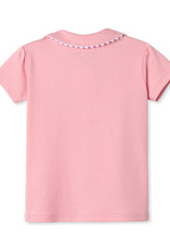 Classic Prep Sarah S/S Pima Polo Lilly's Pink
