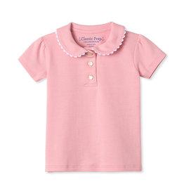 Classic Prep Sarah S/S Pima Polo Pink