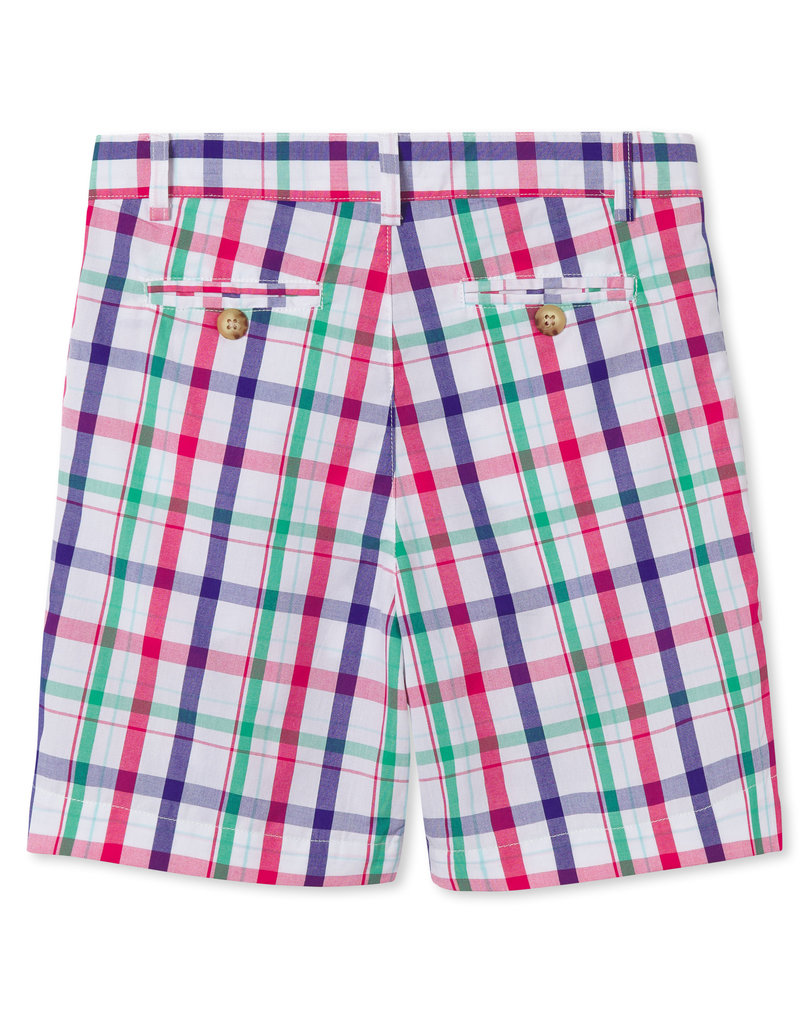 Classic Prep Hudson Shorts Sherbert Plaid