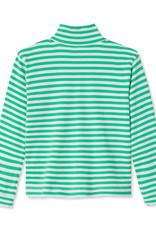 Classic Prep Harrison 1/4 Zip Blarney/White Stripe