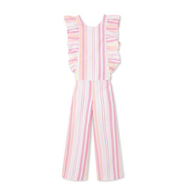 Classic Prep Whitney Jumpsuit Sherbert Stripe