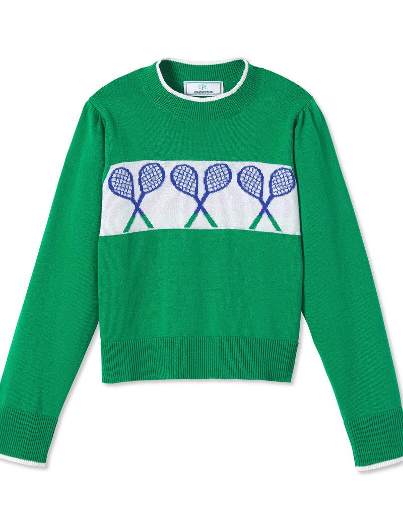 Classic Prep Darby Tennis Sweater Blarney Green
