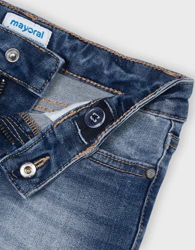 Mayoral Ecofriends Denim Shorts