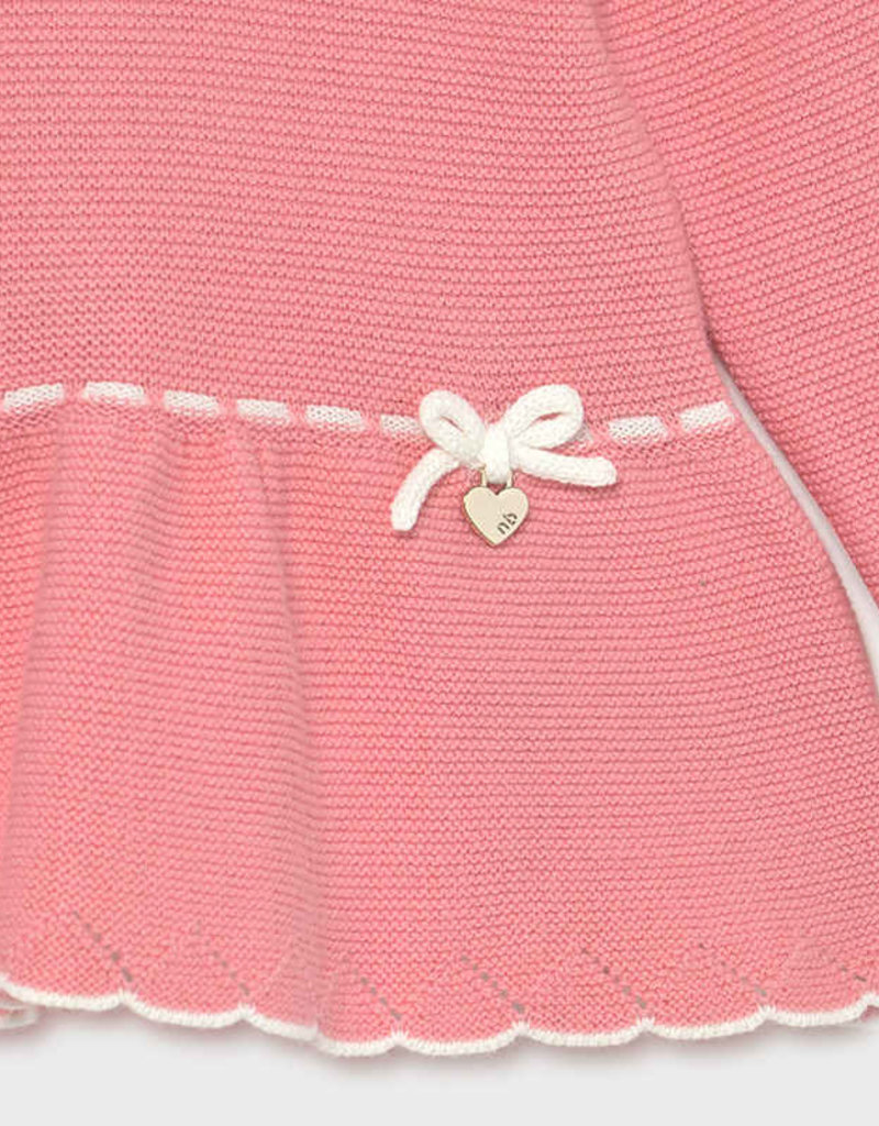 Mayoral Knit Footed 2pc Set Pink