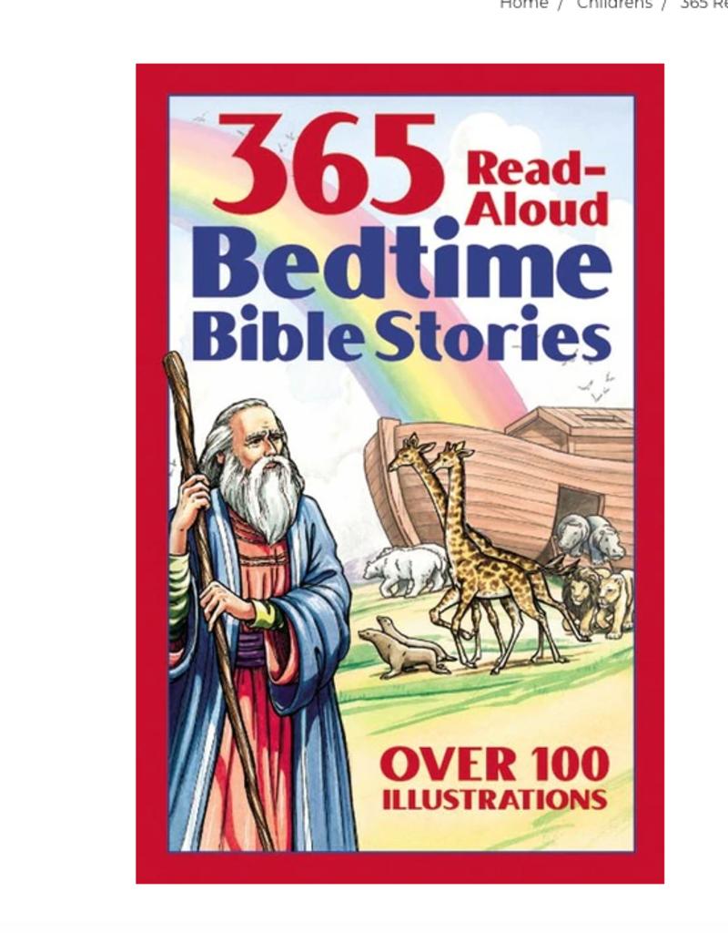 Barbour Publishing 365 Read Aloud Bedtime Bible Stories