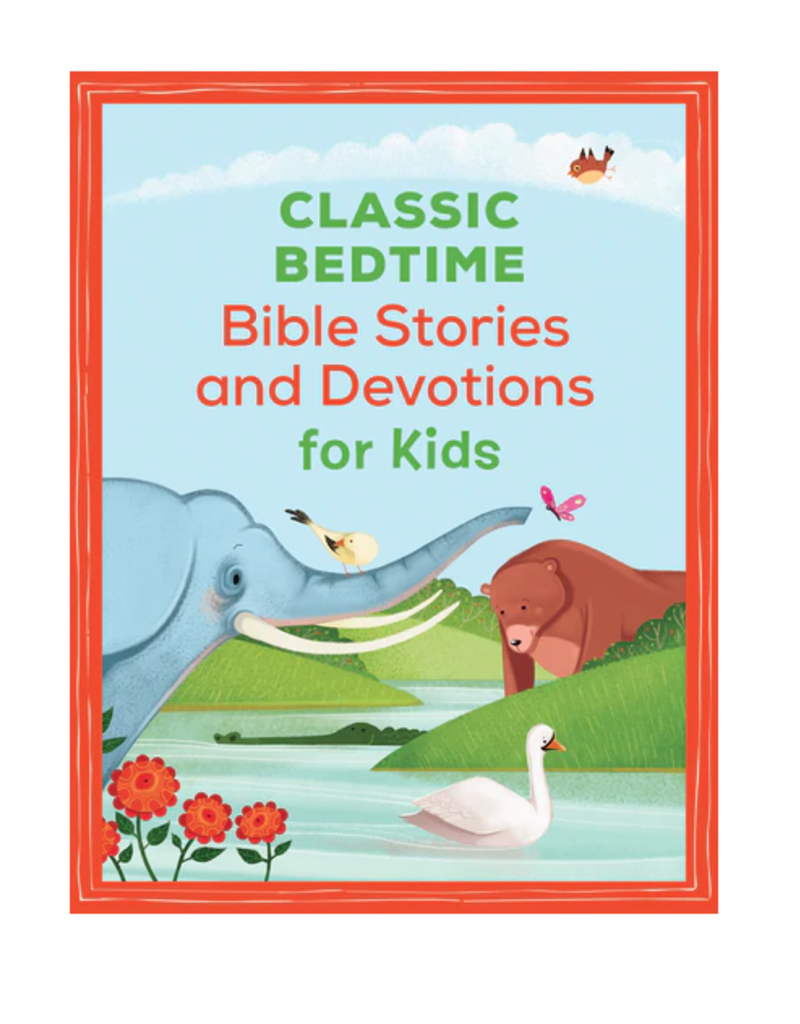 Barbour Publishing Classic Bedtime Bible Stories Devotions for Kids