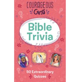Barbour Publishing Courageous Girls Bible Trivia