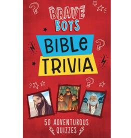 Barbour Publishing Brave Boys Bible Trivia