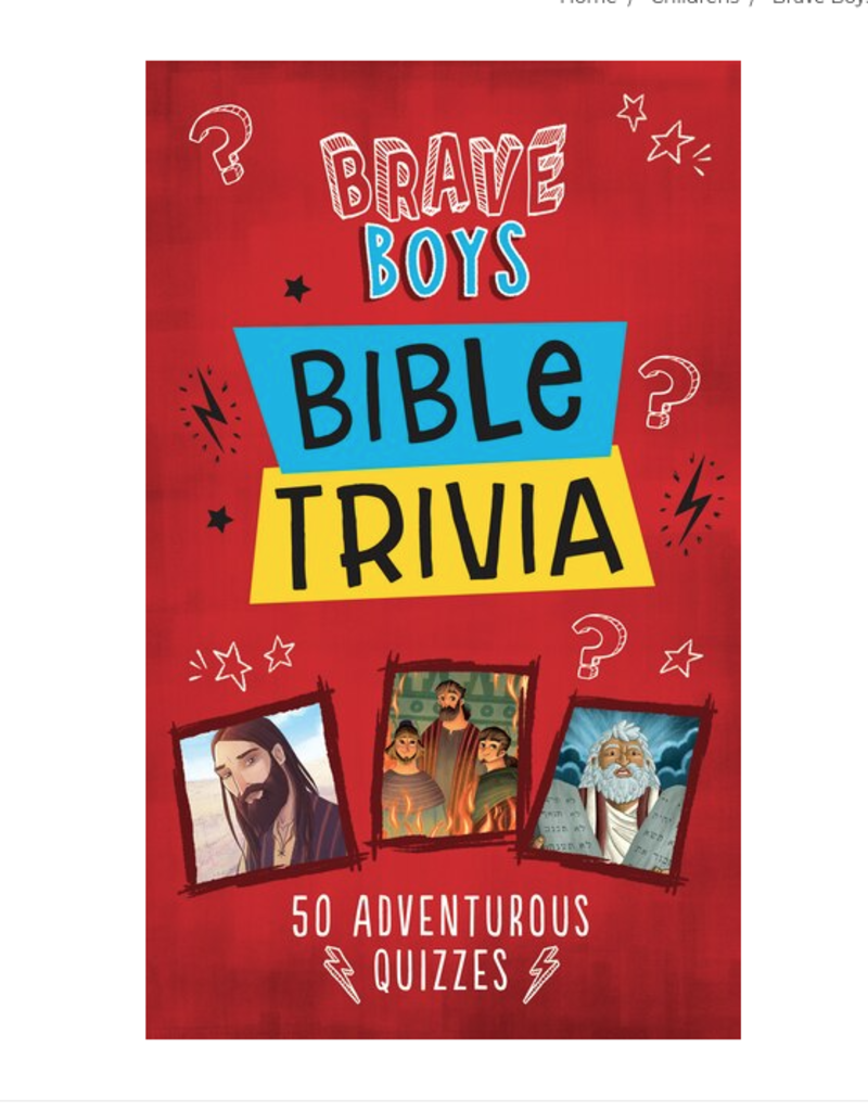 Barbour Publishing Brave Boys Bible Trivia