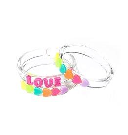 Lilies & Roses NY Love Bracelets Set of 3
