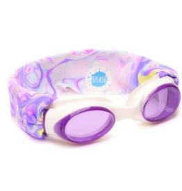 Splash Swim Goggles Pastel Swirl Swim Goggles