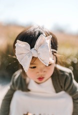 Baby Bling Bow Fab-Bow-Lous Skinny Blush/Ivory