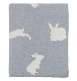 Bunny Knit Blanket