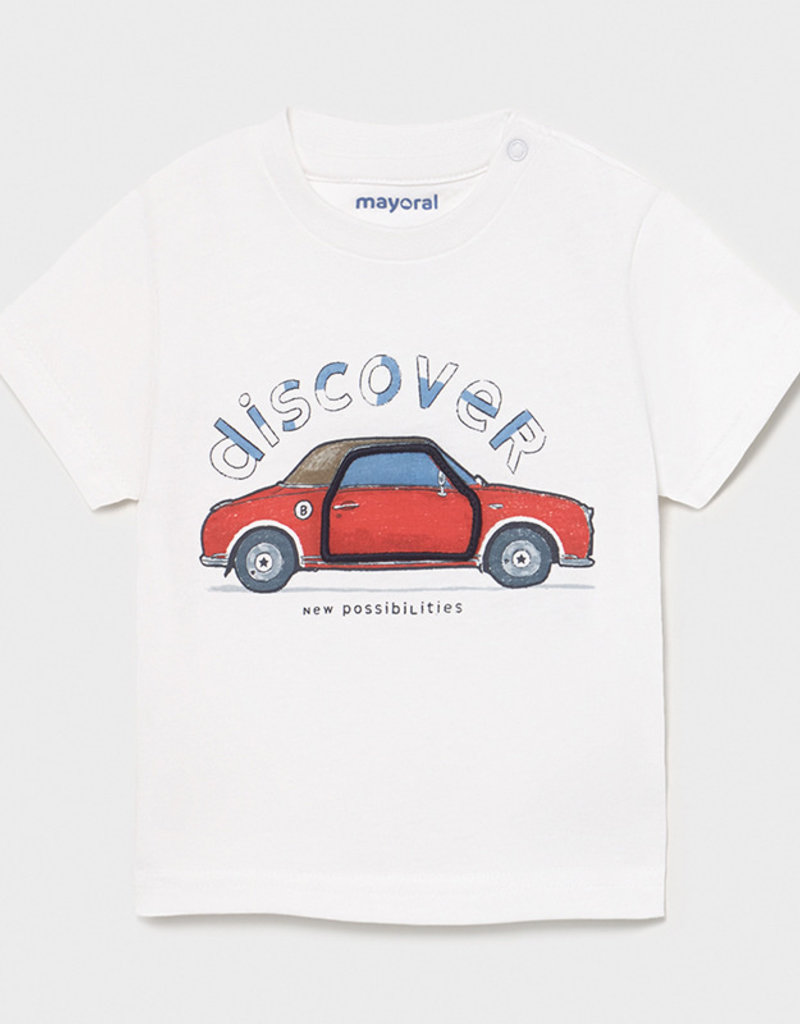 Mayoral S/S T Shirt Discover Car