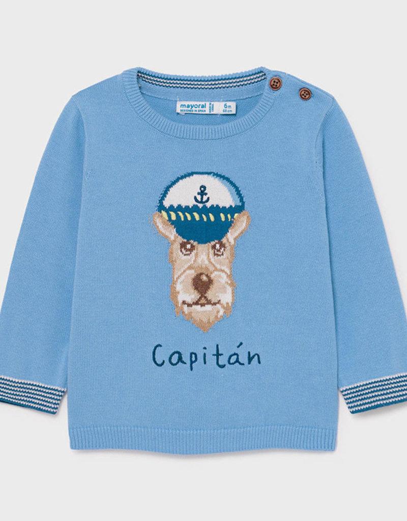 Mayoral Applique Dog Sweater