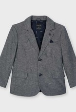 Mayoral Tailored Linen Jacket Navy
