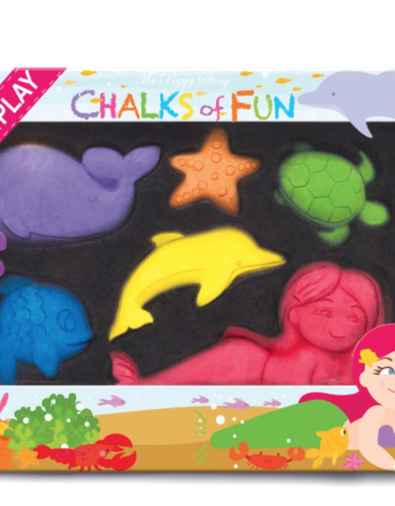Magical Mermaids Chalk Critters