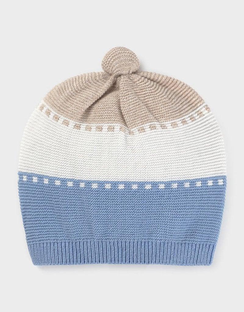 Mayoral Ecofriends Knit Hat Sky Blue