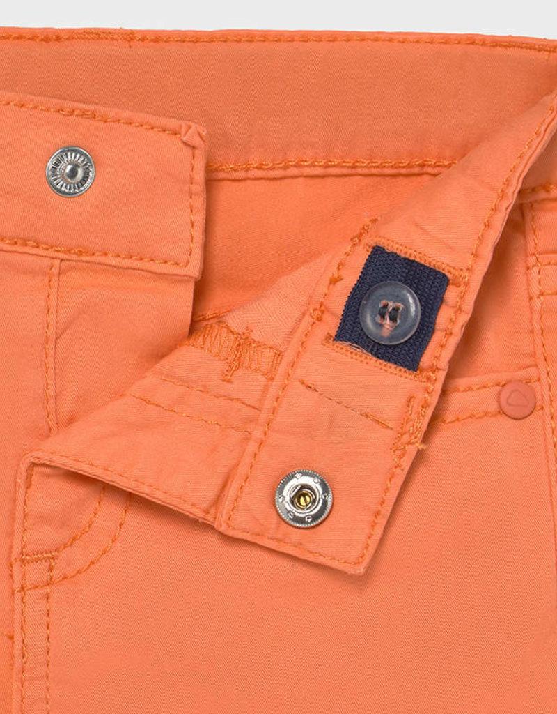 Mayoral Twill Bermuda Shorts Apricot