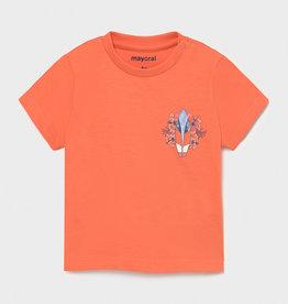Mayoral Ecofriends T-shirt Apricot