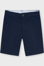 Mayoral Twill Chino Shorts Navy