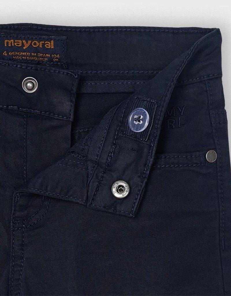 Mayoral Slim Fit Serge Pants Navy