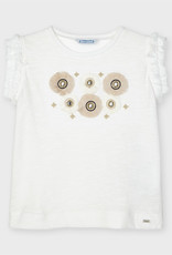 Mayoral Flowers Applique Tank Top