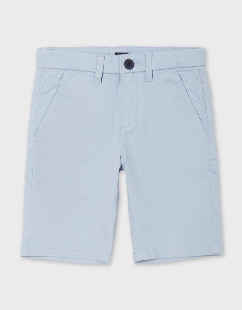 Mayoral Chino Shorts Lt Blue