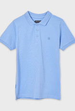 Mayoral S/S Polo Lt Blue