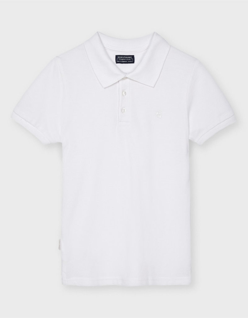 Mayoral S/S Polo White