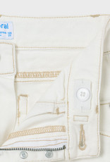 Mayoral Twill Cropped Pants